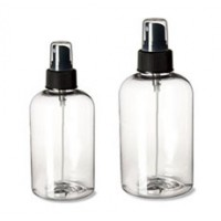 12 Oz & 16 Oz Boston Pet Bottles With Blk Atomizer