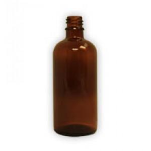 100ml amber glass bottles