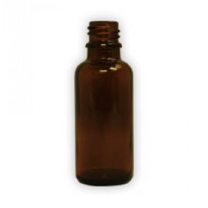 30ml amber glass bottles