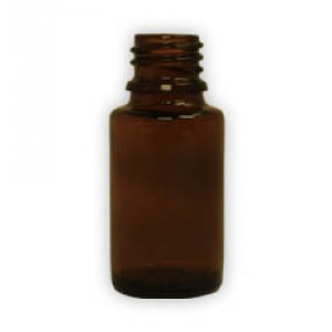 15 ml amber glass bottles