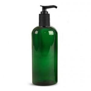 12 OZ Green Pet W Blk Pump