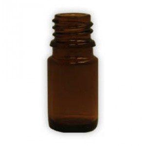 5ml Amber Glass Bottle