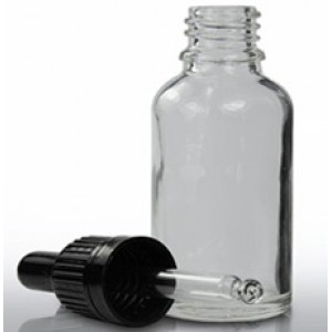 30 ml Clear Glass Bottle