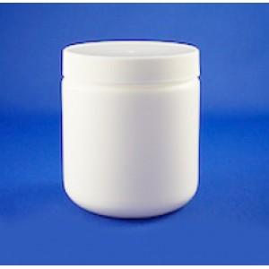 500 ml Jar HDPE (WHITE)
